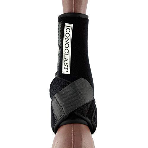 Iconoclast Orthopädische Hind Sport Stiefel Schwarz Groß -