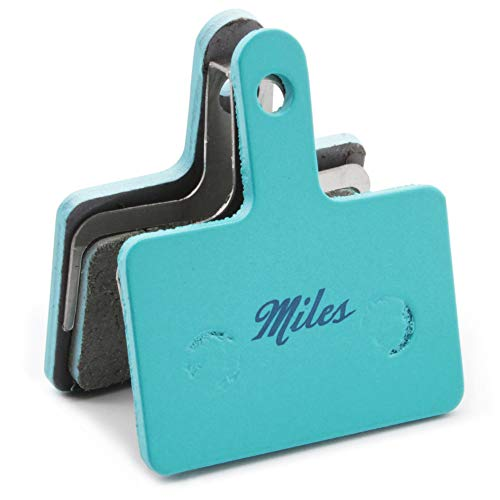 Miles Racing - dischi in materiale organico - pastiglie freno Shimano Deore BR-M525/575/486/475/515/485/416 idrauliche, C501, C601, Tektro Auriga Comp/Pro/Draco