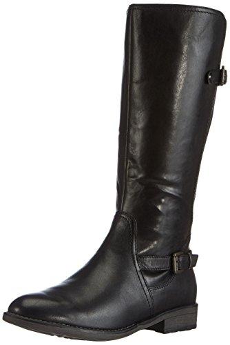 Tamaris 25515, Stivali a gamba alta Donna Nero (Schwarz (Black 001))