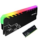upHere Memory RAM RGB Cooler Heat Sink Cooling Vest Fin Radiation Dissipate For DIY PC Game Overclocking MOD DDR DDR3 DDR4