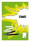 LIMIT Schulheft 10er Pack A4 Lineatur 20 - blanko 16 Blatt mit Liniernblatt grün