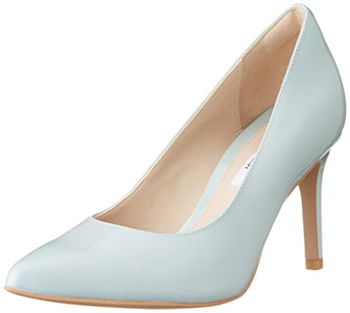 Clarks Damen Dinah Keer Pumps, Blau (Aqua), 41 EU Pointy Toe Pumps Schuhe