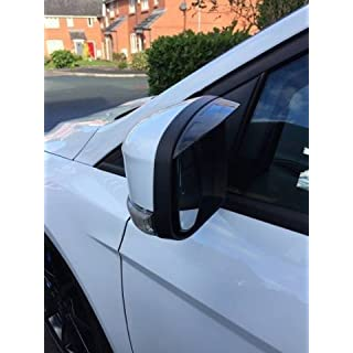 ABS All Brake Systems Focus Wing Mirror Visors Rain Visors Guards