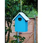 garden mile® Colourful Novelty 3 In 1 Garden Bird Houses Highly Detailed Predator Proof Bird Nesting Boxes For Small… 27