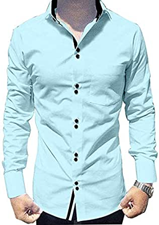 parth fashion Hub Men's Cotton Fancy Casual Full Sleeve Shirt