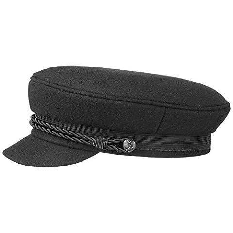 Black Elbsegler Schiffsmütze Schildmütze Mütze Kaitänsmütze Lierys Elbsegler Kappe (57 cm - (Schildmützen Herren)