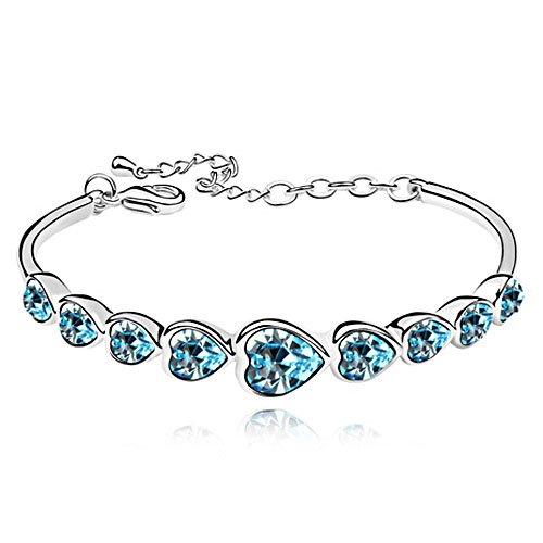 rarelove-swarovski-elements-topaz-crystal-18k-gold-plated-emerald-bangle-bracelet