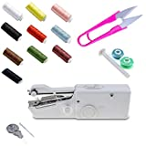 Portable Sewing Machine Mini Portable Smart Electric Tailor Stitch Hand-held Sewing Machine Home