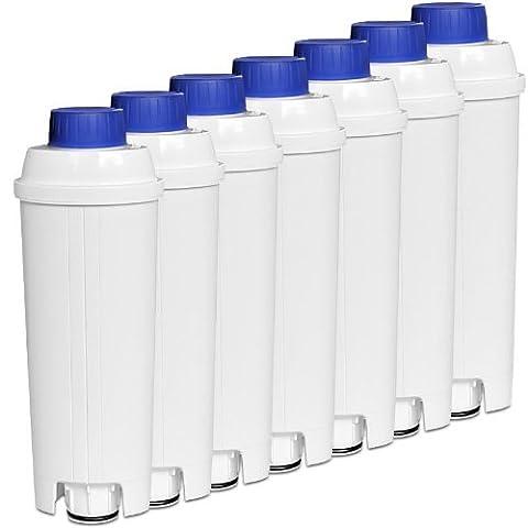 7x DeLonghi SER 3017 Wasserfilter für Kaffeevollautomaten der