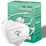 Allsense FFP2 Anti Pollution Face Mask with Adjustable Head Band | 5 Layer Filtration against Virus & Bacteria | CE, FDA…