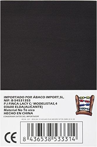 Abaco 331 - Pack de 10 laminas gomas Eva