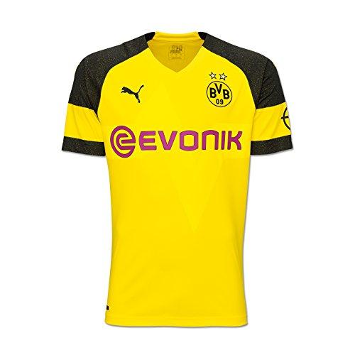 Puma BVB 09 Borussia Dortmund Trikot Home 18/19 (M, gelb/schwarz)