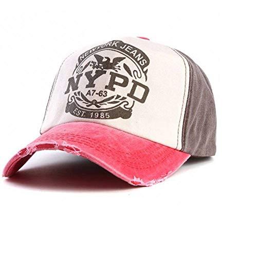 CXKNP Baseball Caps Markenkappe Baseballmütze Ausgestattet Hut Casual Cap 5 Panel Hip Hop Hysteresenhüte Waschmütze Unisex Golf Cap-5-panel-caps
