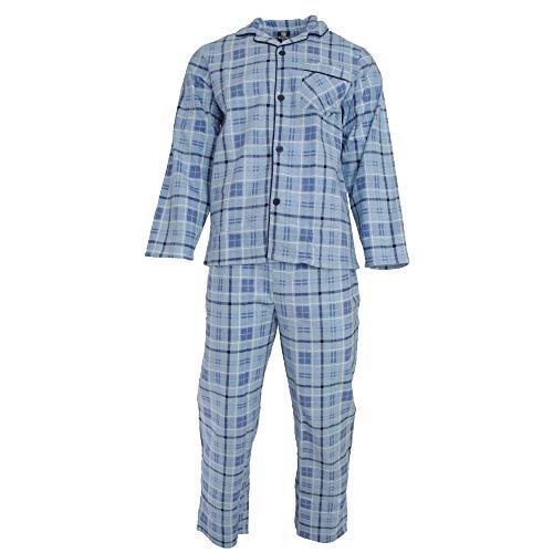 Cargo Bay Herren Pyjama gestreift (M) (Himmelblau) - Bay Deckenventilator