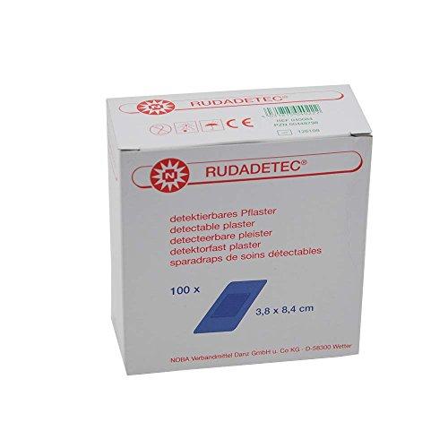 100x RUDADETEC® Pflasterstrips, detektierbar, Lebensmittelindustrie, 1,9x7,6 cm