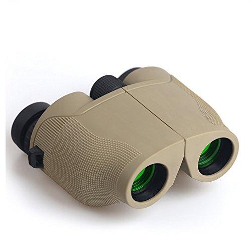 8x25 Kompaktes Fernglas, Licht Nachtsicht Clear Vogelbeobachtung Groß für Outdoor Sport Spiele und Konzerte - Wasserdicht und staubdicht