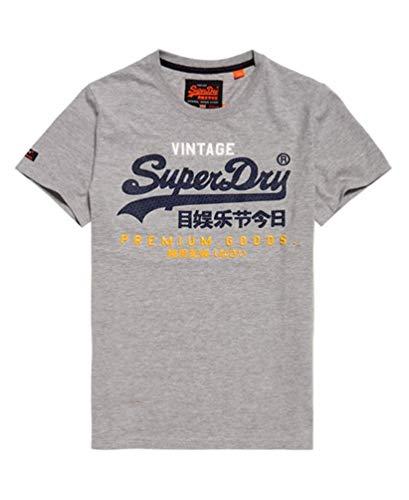 Superdry Das Model trägt die Größe 10 (38/S)