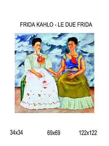 Impresión lienzo Canvas 100% fabricado Italia-Frida