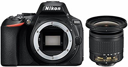 Nikon D5600 KIT inkl. AF-P DX Nikkor 10-20 mm 1:4.5-5.6G VR, schwarz