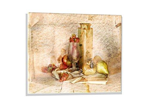 Kunst für Alle Image sur Verre: Silvia Simonato Sweet Memories, Image de Haute qualité, Impression d'art Brillante sur Verre Pur, 80x60 cm