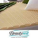Beautyrest Convoluted Foam Mattress Topper, Size Full (fmb945os) by