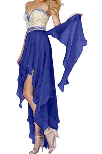 Missdressy -  Vestito  - linea ad a - Donna blu royal