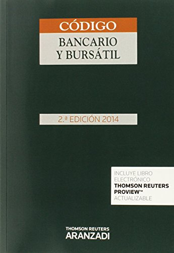 Código Bancario y Bursátil (2ª ed. 2014) (Codigos Basicos Prof. 2016) por Aa.Vv.