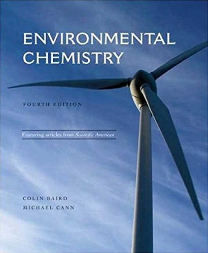 [(Environmental Chemistry)] [By (author) Colin Baird ] published on (April, 2008)