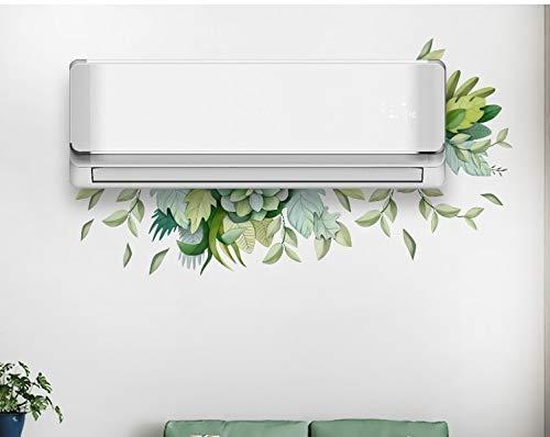 Pegatina floral decorar aire acondicionado
