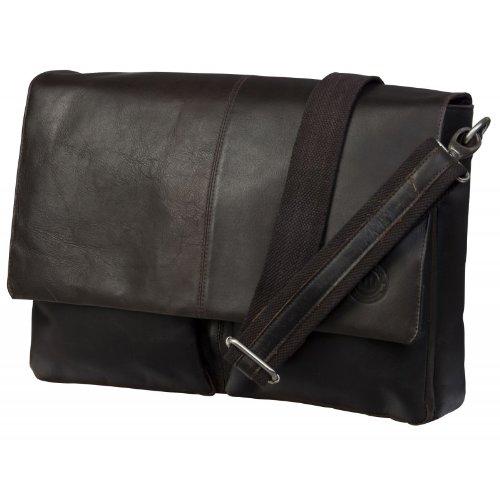 dbramante1928 Messenger Sacoche en cuir pour Ordinateur Portable/MacBook 13