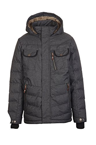 Killtec Jungen Sorin Winterjacke, Denim anthrazit, 152