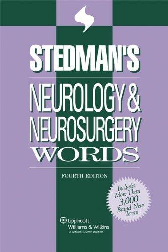 Stedman's Neurology & Neurosurgery Words (Stedman's Word Books) by Stedman's (2006-06-05)