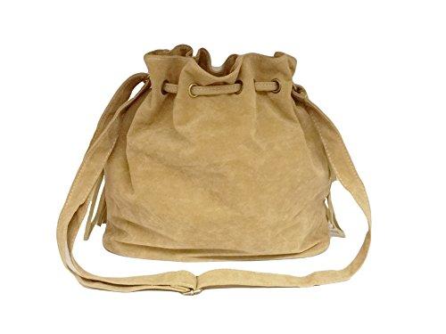"""La Loria donna borsa frans """"Mailand"""" tasca, borsa a tracolla, borse a spalla, borse a tracolla, borse tote nero beige"""