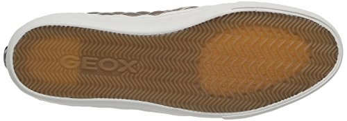 Geox D New Club C, Baskets Basses Femme Gold (SKINC8182)