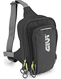 GIVI EA113B Easy Bag Bolsillo de Pierna Urban, Color Negro, Volumen 2 Litros, Carga Máxima 1 Kg