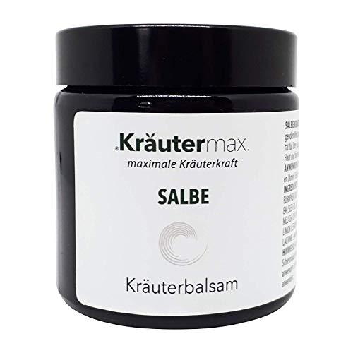 Kräuter-körper-balsam (Kräuter-Balsam 1 x 100 ml - Kräuter-Salbe - Creme - Extrakte - Balsam - Arnika, Johanniskraut, Melisse und Rosmarin)