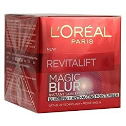 Loreal Paris Revitalift Magic Blur Instant Smoother Anti-Aging Moisturizer 50 ml With Free Ayur Sunscreen 50 ml