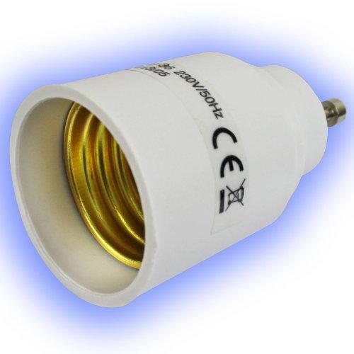 Lampensockel-Adapter Lampenfassungs-Adapter adaptiert GU10 Sockel auf E27 Gewinde
