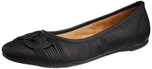 BATA Women's Rebecca Black Ballet Flats - 4 UK/India (37 EU) (5516803)