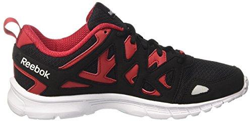 Reebok Run Supreme 3, Scarpe da Corsa Uomo Grigio (Ash Grey/Excellent Red/Black/White)