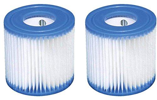2 x intex cartuccia filtro (tipo h / 29007) per quick up pool filtro cartuccia filtro di ricambio