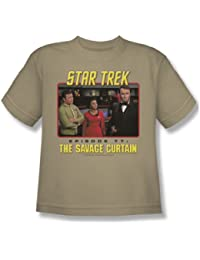 Star Trek - St / The Savage Curtain Youth T-Shirt In Sand