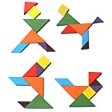 #10: Baybee Wooden jigsaw Tangram Puzzle