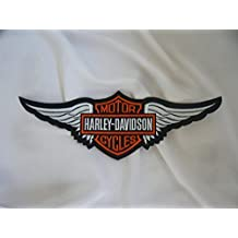 –Parche para planchar Harley Davidson aprox. 29x 9cm águila Eagle Sportster Shield Moto Motocicleta Club