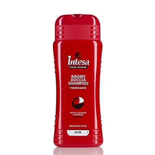 Intesa pour Homme - Bagno Doccia Shampoo, Tonificante , 500 ml