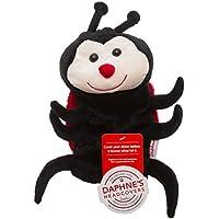 Daphne 's Ladybug–híbrido de Golf, Mariquita, Unisex, Color Negro/Rojo, tamaño No se Aplica