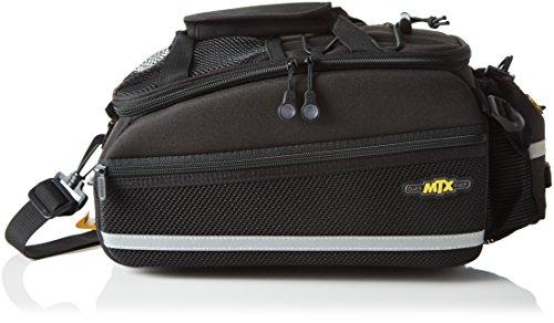 Topeak Rahmentasche MTX TurnkBag EX Gepäckträgertasche Fahrradtasche Mit Trinkflaschenhalter, Black, 35x19x21 cm, 8 L