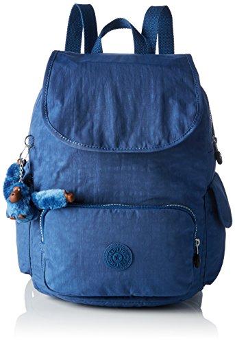 Kipling CITY PACK S Damen Rucksackhandtaschen 27x33.5x19 cm (B x H x T), Blau (33V Jazzy Blue)