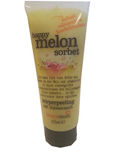 Treaclemoon Happy Melon Sorbet Körperpeeling mit Vulkansand 225 ml