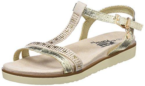 48049, Zapatos con Plataforma para Mujer, Plateado (Platinium), 39 EU Xti